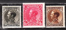 401/03**  Leopold III Type Invalides - Série Complète - MNH** - COB 13 - Vendu à 12.50% Du COB!!!! - Belgique