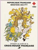 N° Yvert&Tellier 2032 - Carnet Au Profit De La Croix-Rouge - Sculptures En Bois Polychrome (1) - Carnets