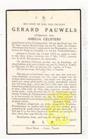 DP Gerard Pauwels ° Testelt 1873 † 1937 X Amelia Ceusters / Scherpenheuvel-Zichem - Devotion Images