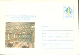 75173- WORLD BOWLING CHAMPIONSHIPS, SPORTS, COVER STATIONERY, 1980, ROMANIA - Bowls