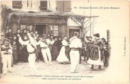 Dépt 64 - PAYS BASQUE - Eskual Herria - FANDANGO - Danse Nationale Des Basques Au Son De La Guitare - (danseurs) - France
