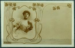 CARTOLINA - FOTOGRAFIA - CV583 RITRATTO 1901 Splendida Cartolina Liberty Con Ritratto Della Mittente, Viaggiata, - Photographie
