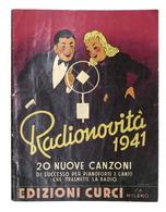 Musica Spartiti - Radionovità 1941 - 20 Nuove Canzoni - Pianoforte E Canto - Non Classificati