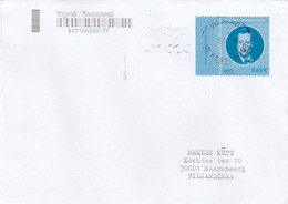 GOOD ESTONIA Postal Cover 2019 - Good Stamped: President ILVES - Estonie