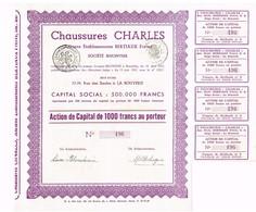 Action Ancienne - Chaussures Charles - Anciens Etablissements Bertiaux Frères - Parfums & Beauté