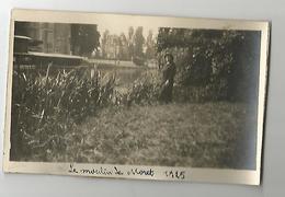 Photographie 77 Le Moulin De Moret 1925 Photo Collée Sur Papier 7x11,5 Cm Env - Places