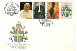 12850 - Visite JEAN PAUL II - Angola