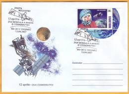 2007 Moldova Moldavie Moldau Special Post Cancelation 12th Of April. Cosmonautics Day. - FDC & Commemoratives