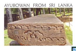 Sri Lanka Postcards, The Galpotha, Stone Book, Polonnaruwa, UNESCO, Postcrossing - Sri Lanka (Ceylon)