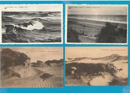 BELGIË Koksijde, Sint Idesbald, Lot Van 46 Postkaarten. - Postcards