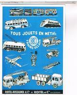 PUBLICITE JOUETS  ROITEL EN METAL - Publicité
