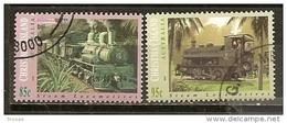 Christmas Island 1994 Trains Obl - Christmas Island