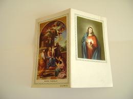1976 Sacra Famiglia    CALENDARIETTO CALENDARIO CALENDRIER - Calendars