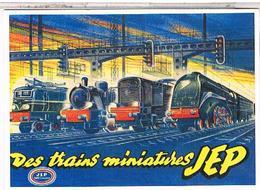 PUBLICITE JOUETS  TRAINS JEP - Advertising