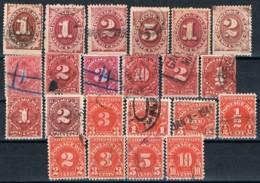 USA, 1879/1931, Used - 1847-99 Emissions Générales