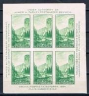 USA, 1934, MH - Vereinigte Staaten