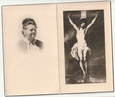 Décès Lucy CARROEN Veuve Louis Raedts Hal 1894 Enghien 1958 - Devotion Images