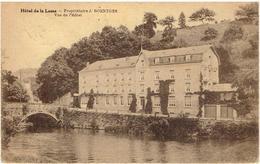 ANSEREMME - Dinant - Hôtel De La Lesse - Vue De L' Hôtel - Timbre Taxe 30 Cintimes - Dinant