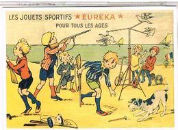 PUBLICITE JOUETS SPORTIFS EUREKA - Advertising