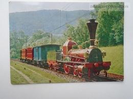 D162607  Verkehrshaus Der Schweiz -Luzern - Swiss Tramsport Museum - Spanish-Brütli -Bahn - 1973  Train - Eisenbahnen