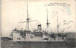 Bateau - Marine Militaire - BIEN - HOA - Transport De 1ère Classe (pli Coin Gauche)   ** - Guerre