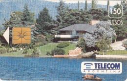 ARGENTINA - Carlos Paz, Telecom Argentina Telecard, Chip GEM1, 05/93, Used - Argentina