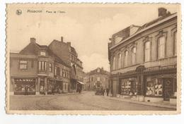 Moucron Place De L'Ours Carte Postale Ancienne - Mouscron - Moeskroen