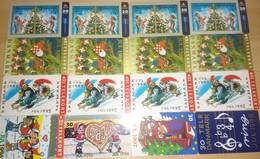 Denmark, 16 Different Christmas Cards, 2 Scans.  Please Read - Danimarca
