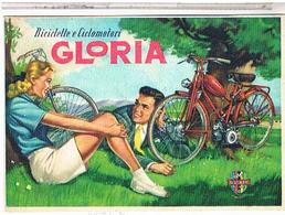 PUBLICITE CYCLES  ET CYCLO  GLORIA PIN UP - Pubblicitari