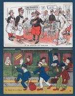 2 Cartes Militaires Humoristiques - Humour