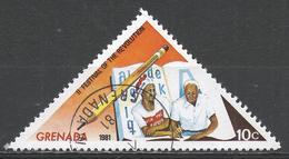 Grenada 1981. Scott #1034 (U) Festival Of The Revolution, Adult Education * - Grenade (1974-...)
