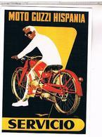 PUBLICITE MOTO GUZZI HISPANIA - Advertising