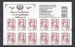 Carnet Marianne De Ciappa Trésors De La Philatélie .LP 20g - Carnets