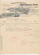 Factuur / Brief Gelsenkirche-Schalke 1907 - Kuppersbusch - Fabrik Fur Kochapparate - Duitsland