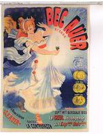 PUBLICITE    GAZ DE BORDEAUX  BEC AUER  PIN UP - Advertising