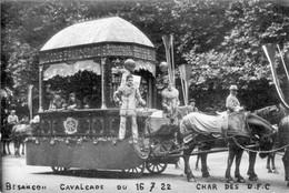 BESANCON - Carte Photo. Char Des Docks Franc-Comtois. Cavalcade Du 16-07-1922. Non Circulée. TB état. 2 Scan. - Besancon