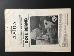 ANTWERPEN - Programma - Film - Cinema - ASTRA - Gregory Peck - Movie - Programma's