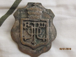 Ethiopia: Badge With Monogram For Horses' Arnachement - Insignes & Rubans