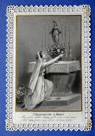 IMAGE PIEUSE  CANIVET ........ ED. BOUASSE LEBEL....CONSÉCRATION A MARIE - Devotion Images