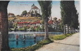 AK 0129  Buchs - Schloss Und Städtchen Werdenberg / Verlag Schmidt Um 1910-20 - SG St. Gallen