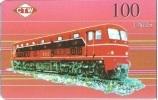 NORTH KOREA : 100u Train Mint - Corée Du Nord