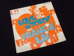 Vinyle 45 Tours Francis Lai Love Story (1971) - Vinyl Records