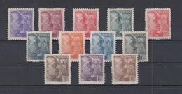 EDIFIL 867/78 **   FRANCO SÁNCHEZ TODA  NUEVA SIN SEÑAL DE FIJASELLOS. - 1931-50 Nuevos & Fijasellos