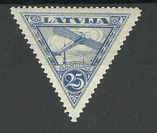 Lettland Latvia 1928 Michel 121 * - Lettonie