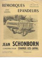 Publicité - Remorque - Schonborn - Change Les Laval - Mayenne - Fiches Illustrées