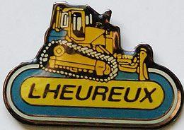 HH  468...TRACTEURS/OUTILS AGRICOLES/.AGRICULTURE /TRAVAUX PUBLIC / ..............LHEUREUX - Pin's