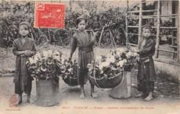 Vietnam - Hanoï / 40 - Petites Marchandes De Fleurs - Viêt-Nam