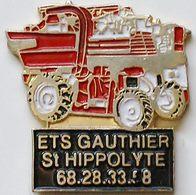 HH  469...TRACTEURS/OUTILS AGRICOLES/.AGRICULTURE /TRAVAUX PUBLIC / .............ETS   GAUTHIER - Pins