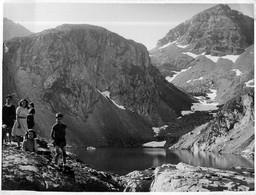 Grande Photo * Lac De Labas * Pic D'estom * 65 Cauterets 24 X 18 - Places