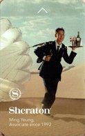 STATI UNITI KEY HOYEL  Sheraton - Ming Yeung, Associate Since 1992 - Hotel Keycards